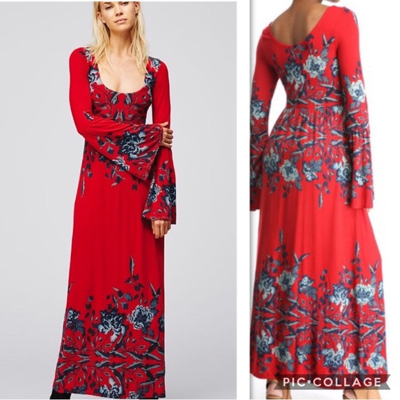 Free People Midnight Garden Dress